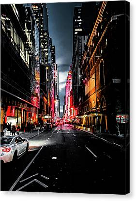 Canvas Print featuring the photograph Gotham  by Nicklas Gustafsson