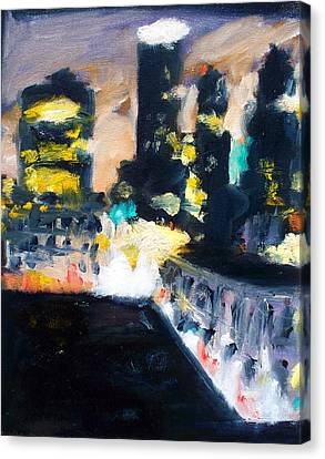 Gotham Canvas Print by Robert Reeves