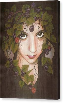Gothberry Canvas Print by Yuri Leitch