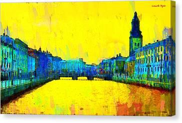 Gothenburg Sweden - Da Canvas Print by Leonardo Digenio