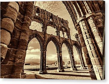 Canvas Print featuring the photograph Gothic Dreams by Anthony Baatz