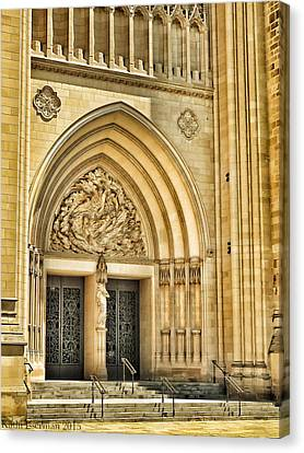 Gothic Entry Canvas Print by Kathi Isserman