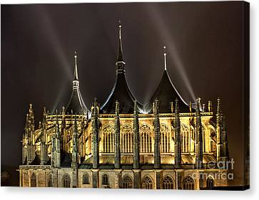 Gothic In Eastern Europe Canvas Print by Christian Hallweger