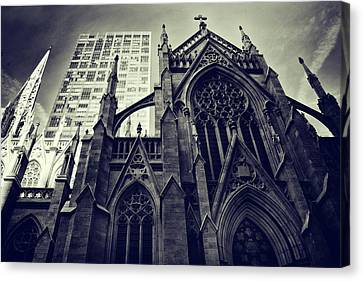Patrick Canvas Print - Gothic Perspectives by Jessica Jenney