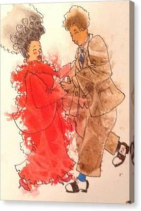 Canvas Print - Gotta Dance by Marilyn Jacobson