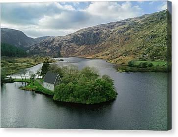 Gougane Barra From Above Canvas Print