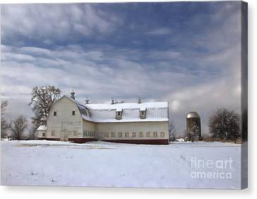 Governor Kerr Scott Farm Canvas Print by Benanne Stiens