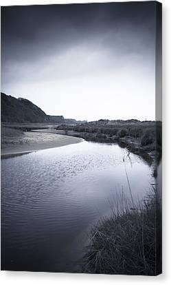 Gower Coast Canvas Print