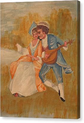 Goya Canvas Print by Eckland Cort