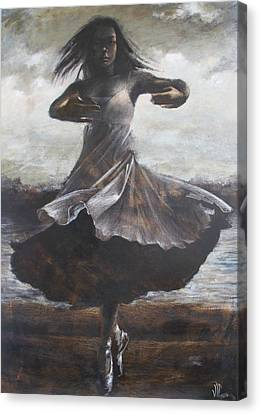 Grace And Movement Canvas Print