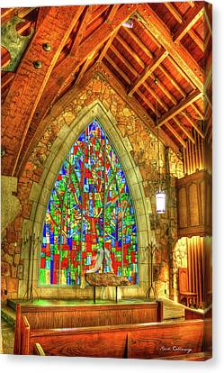 Grace Abounds Ida Cason Callaway Memorial Chapel Art Canvas Print by Reid Callaway