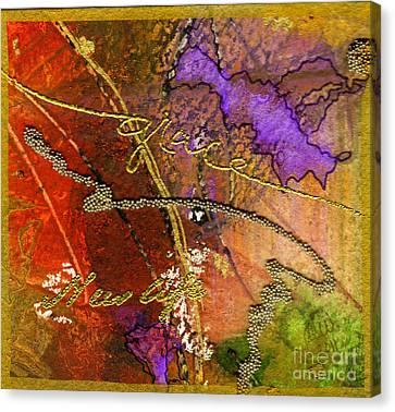 Grace Canvas Print by Angela L Walker
