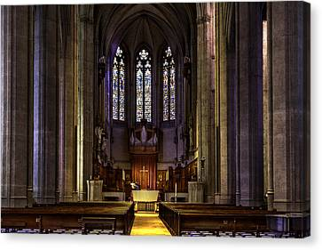 Grace Cathedral Canvas Print