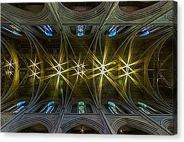 Canvas Print - Grace Cathedral Starburst by Bill Gallagher