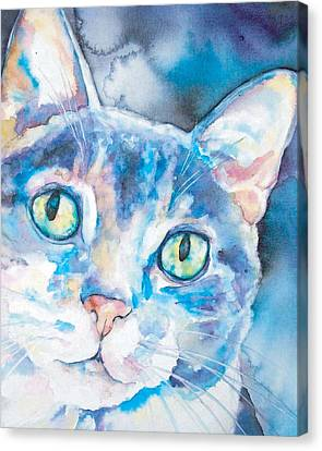 Canvas Print featuring the painting Grace by Christy Freeman