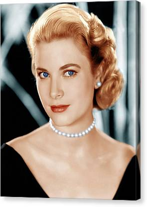 1950s Portraits Canvas Print - Grace Kelly, Ca. 1953 by Everett