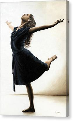 Graceful Enlightenment Canvas Print by Richard Young