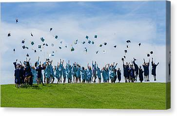 Graduation Day Canvas Print by Alan Toepfer
