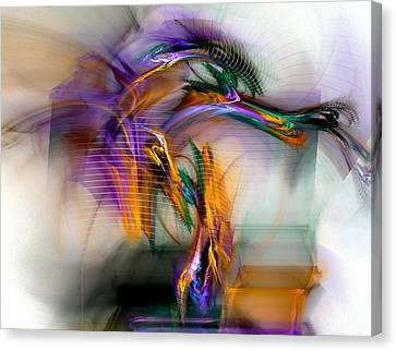 Graffiti - Fractal Art Canvas Print