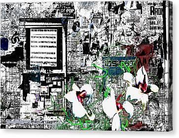 Graffiti 2 Canvas Print by Andy  Mercer