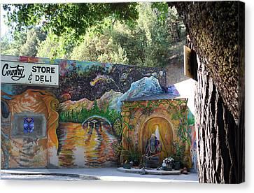 Graffiti 3 Canvas Print