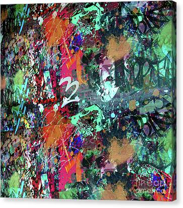 Drips Canvas Print - Graffiti And Paint Spray  by Gravityx9 Designs