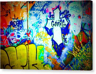 Graffiti Art 1 Canvas Print by Cindy Nunn