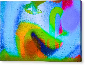 Graffiti Art 12 Canvas Print by Cindy Nunn
