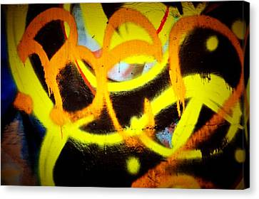 Graffiti Art 2 Canvas Print by Cindy Nunn
