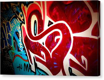Graffiti Art 52 Canvas Print by Cindy Nunn