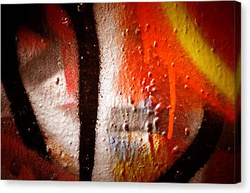 Graffiti Art 57 Canvas Print by Cindy Nunn