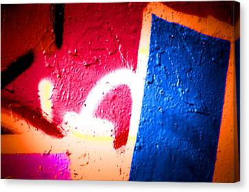 Graffiti Art 58 Canvas Print by Cindy Nunn