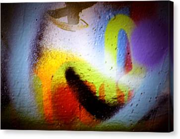 Graffiti Art 60 Canvas Print by Cindy Nunn