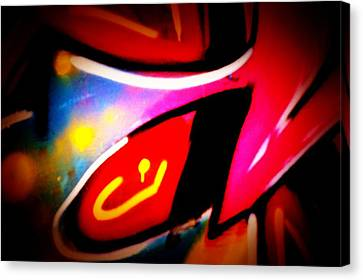Graffiti Art 62 Canvas Print by Cindy Nunn