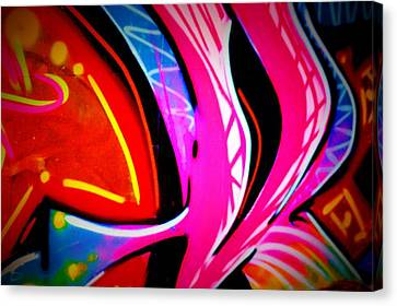 Graffiti Art 63 Canvas Print by Cindy Nunn