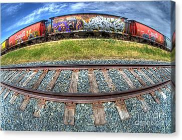 Graffiti Genius 2 Canvas Print by Bob Christopher