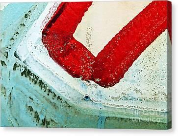 Graffiti Texture IIi Canvas Print by Ray Laskowitz - Printscapes