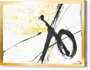 Graffiti Xo Gold Collage Canvas Print by WALL ART and HOME DECOR