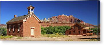 Grafton Ghost Town - Color Canvas Print by William Gillam