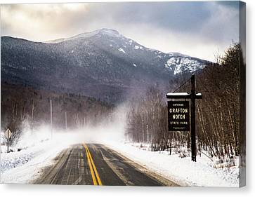Maine Mountains Canvas Print - Grafton Notch State Park by Benjamin Williamson