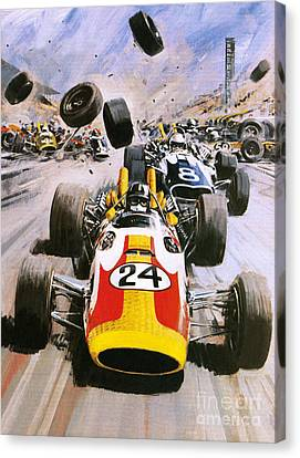 Graham Hill Canvas Print