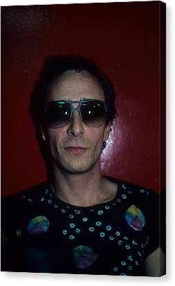 Graham Parker Canvas Print by Rich Fuscia