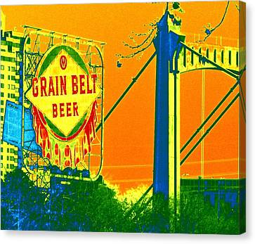 Grain Belt 2 Canvas Print