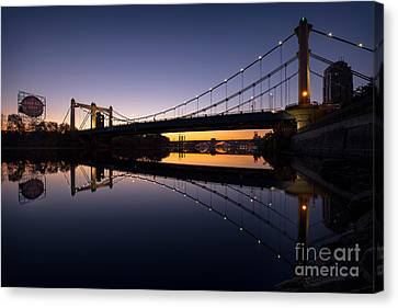 Grain Belt Sunrise Canvas Print