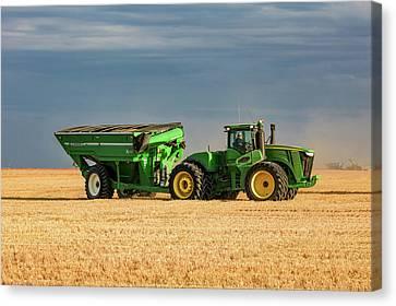Grain Cart Canvas Print