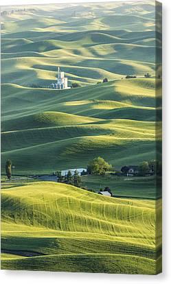 Grain Factory Canvas Print