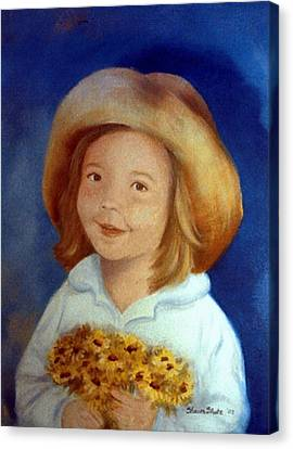 Gramma's Hat Canvas Print
