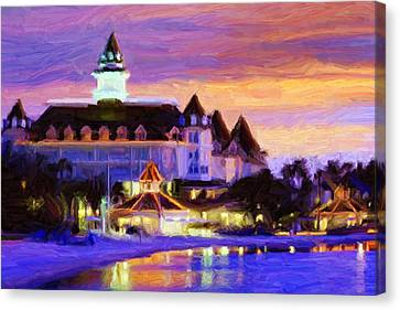 Grand Floridian Canvas Print by Caito Junqueira