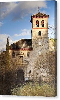 Granada Canvas Print by Andre Vicente Goncalves