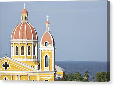 Granada Cathedral Canvas Print by Kryssia Campos